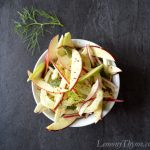 Apple Fennel Slaw with Orange Cumin Dressing
