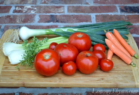 Homemade Fresh Tomato Juice {Vegetable Juice}