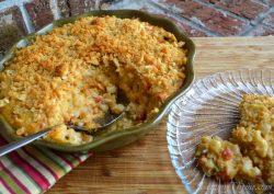 Cheese Scalloped Corn Casserole