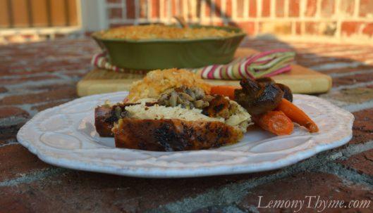 Mushroom & Sage Whole Roasted Chicken