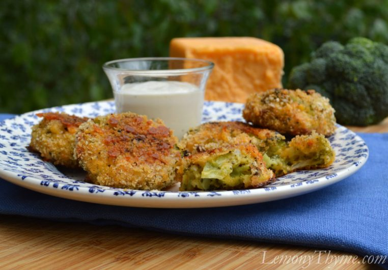 Baked Broccoli Bacon Cheddar Bites