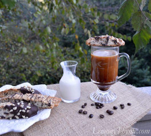 Dark Chocolate & Walnut Biscotti