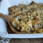 Roasted Cauliflower & Mushroom Casserole
