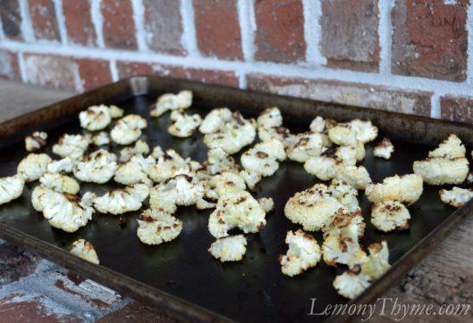 Roasted Cauliflower & Mushroom Casserole
