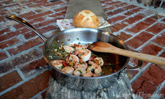 Sage Brown Butter Shrimp Scampi