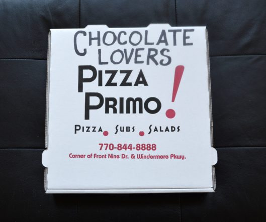 Chocolate Lovers Pizza