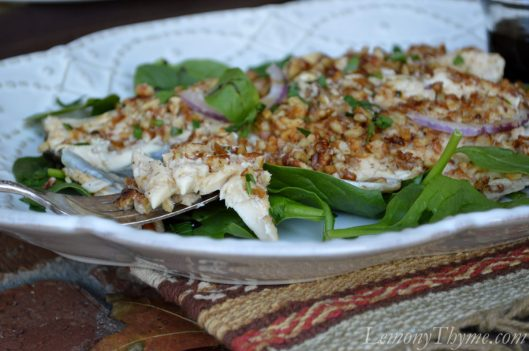 Pecan Crusted Trout