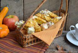 Pumpkin Pecan Biscotti with White Chocolate Chunks