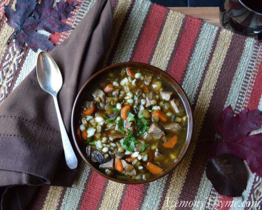 Beef & Barley Soup1