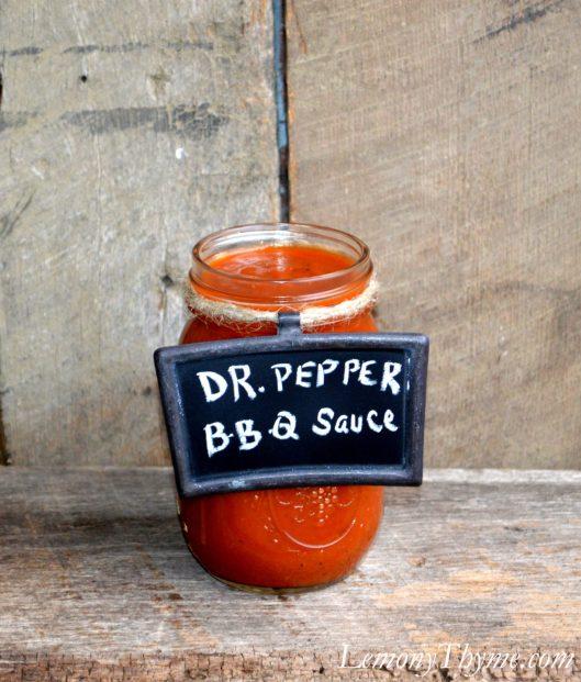 Dr. Pepper BBQ Sauce
