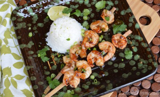 Jamaican Jerk Sugar Cane Shrimp2