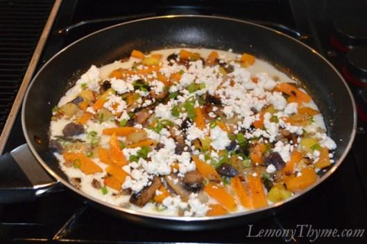 Savory Veggie & Herb Egg White Taquitos1
