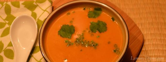 Thai Pumpkin Soup4