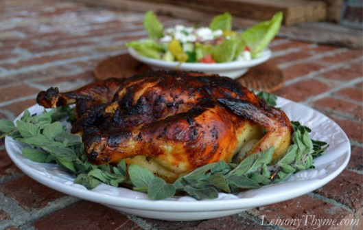 Greek Whole Roasted Chicken