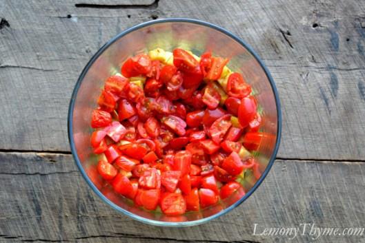 Warm 7-Layer Salad Layer 3