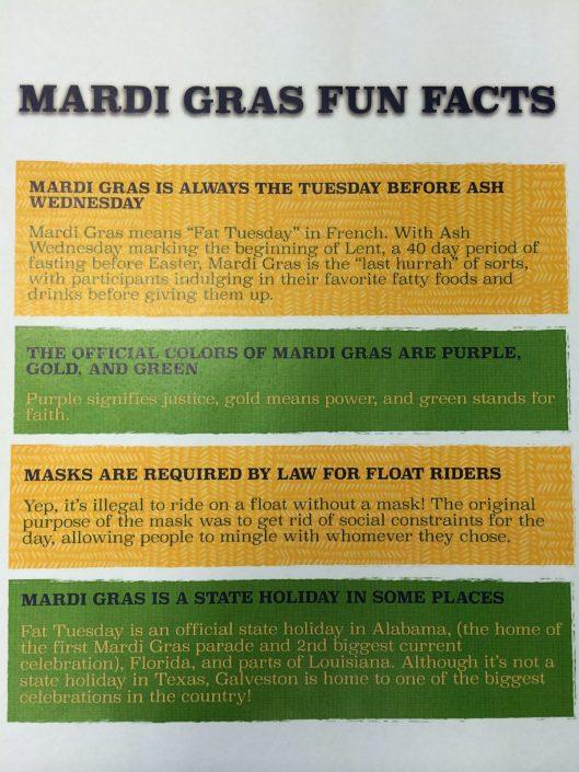 Mardi Gras Fun Facts