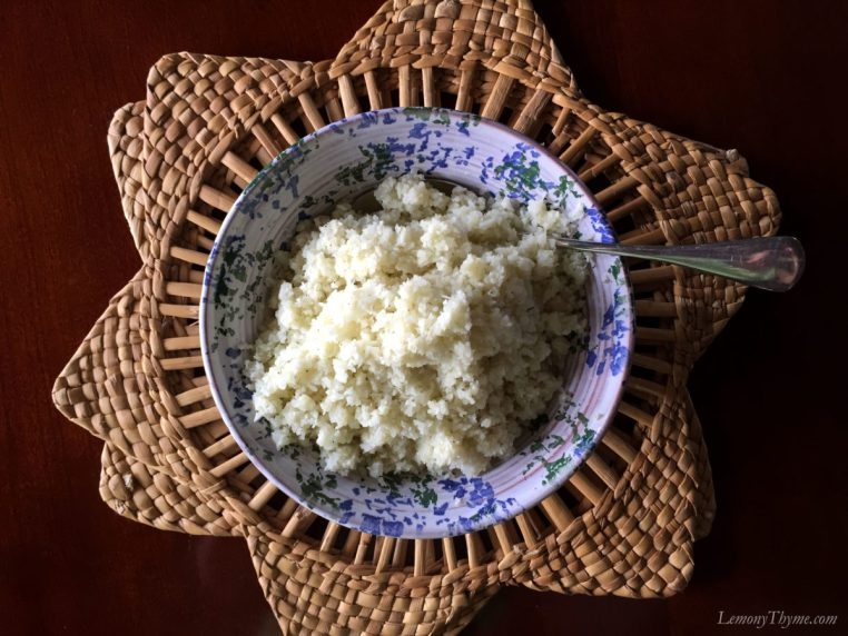 Cauliflower Rice or Couscous