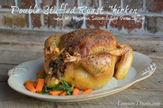 Double Stuffed Roast Chicken