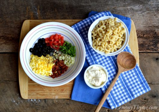 Picnic Perfect Macaroni Salad1