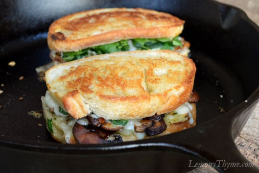 Mushroom & Thyme Truffled Grilled Cheese Sandwich6