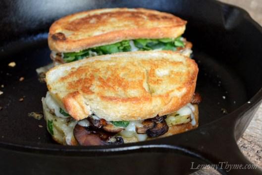 Mushroom & Thyme Truffled Grilled Cheese Sandwich6