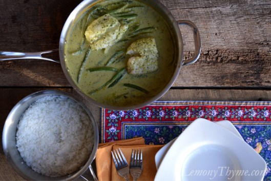 Thai Green Curry Baked Cod3