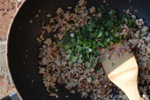 Thai Larb Salad Filling