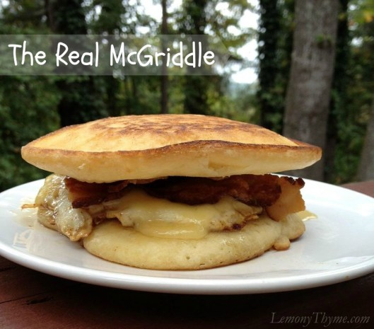 The Real McGriddle from Lemony Thyme