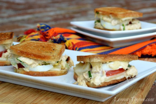 Tuna Melt Grilled Cheese Sliders4
