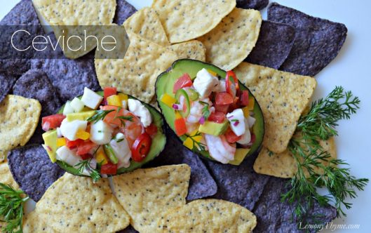 Ceviche from Lemony Thyme