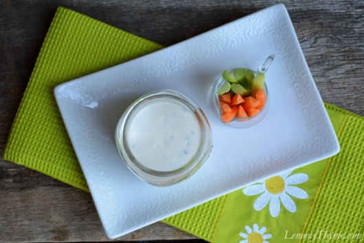Homemade Buttermilk Ranch Dressing1