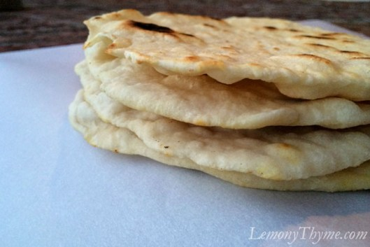 Homemade Pita Bread5