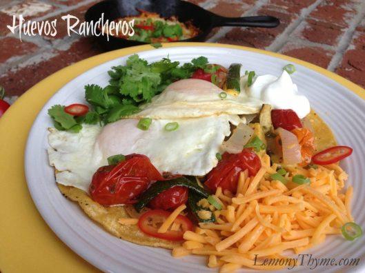 Huevos Rancheros from Lemony Thyme