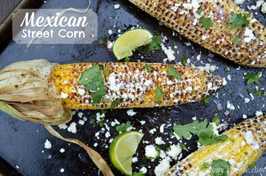 Mexican Street Corn from Lemony Thyme