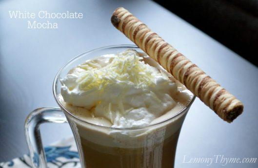 White Chocolate Mocha from Lemony Thyme
