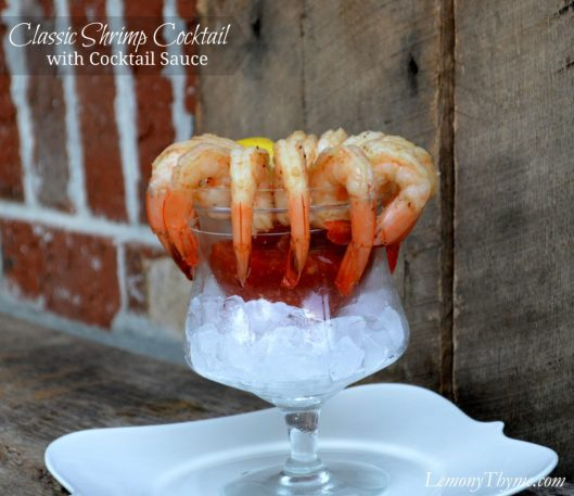 Classic Shrimp Cocktail from Lemony Thyme