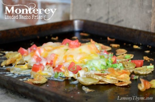 Monterey Loaded Nacho Fries from Lemony Thyme