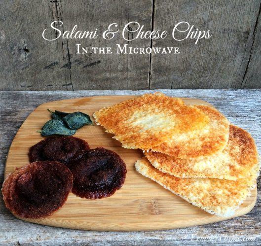 Salami & Cheese Chips from Lemony Thyme