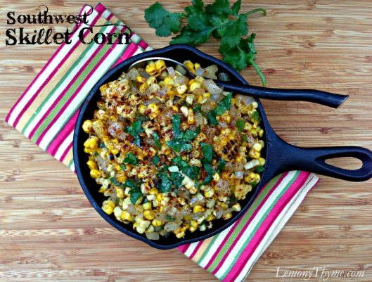 Southwest Skillet Corn from Lemony Thyme