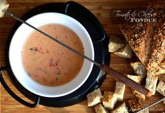 Tomato & Cheese Fondue from Lemony Thyme1