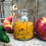 Peach Jalapeno Skillet Jam from Lemony Thyme