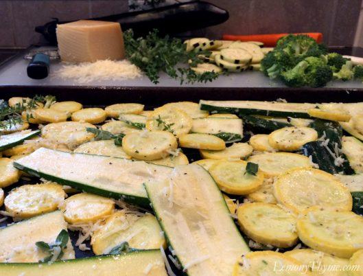 Farmers Market Roasted Veggie Lasagna2