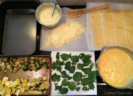 Farmers Market Roasted Veggie Lasagna5