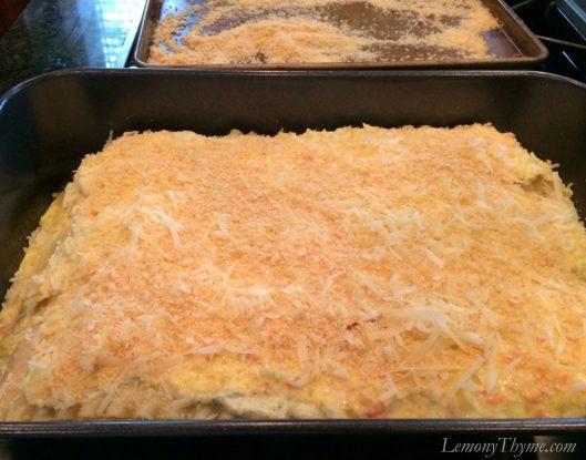 Farmers Market Roasted Veggie Lasagna8