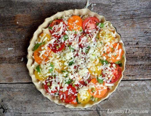 Tomato & Cheddar Pie6