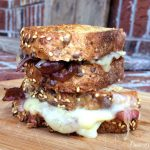 Blueberry Balsamic Red Onion & Gruyere Grilled Cheese2