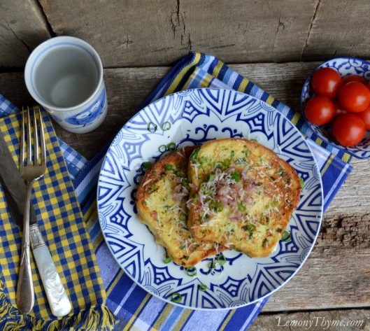 Parmesan & Herb Savory French Toast3