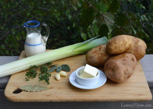 Potato Leek Soup Ingredients
