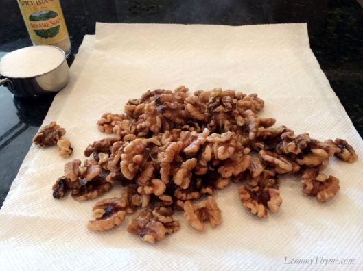 Sweet & Sticky Sesame Walnuts3