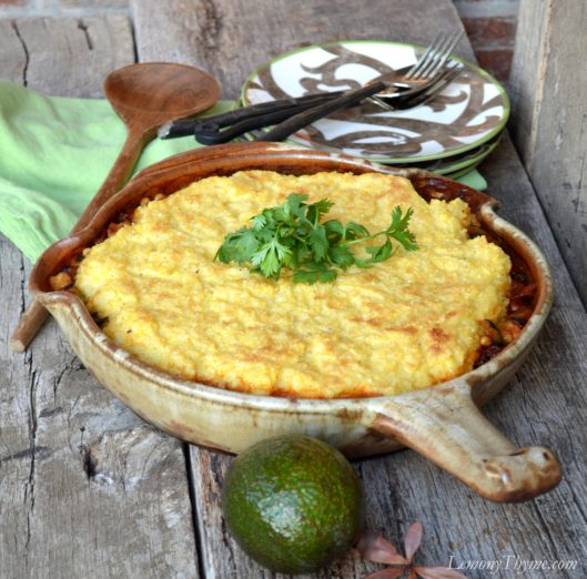Mexican Tamale Pie from Lemony Thyme